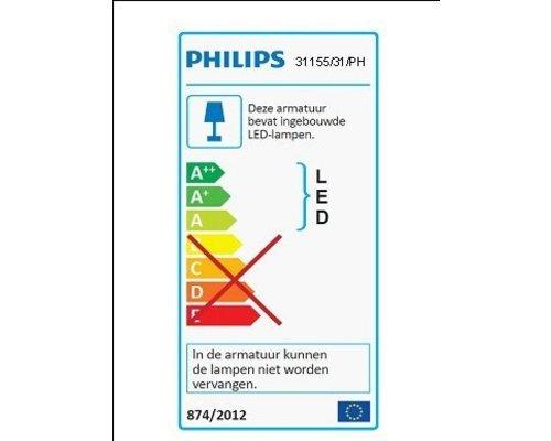 Philips Hue HUE Phoenix inbouwspot LED 1x5W/447lm wit