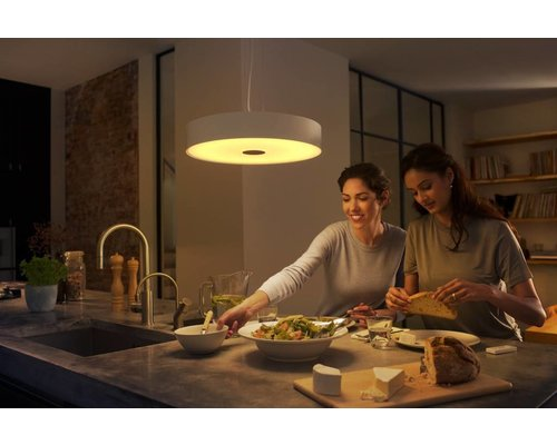 Philips Hue HUE Fair hanglamp LED 1x39W 3000lm wit