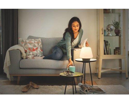 Philips Hue HUE Wellness tafellamp LED 1x9,5W/806lm zwart