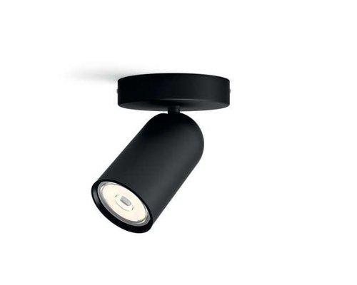Philips Spot apparent en saillie Pongé noir 1 lumière