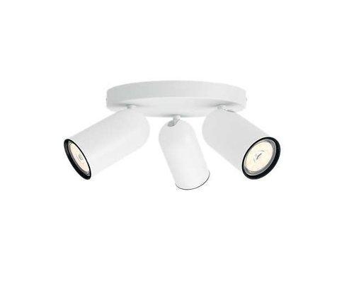 Philips Pongee opbouwspot wit 3-lichts