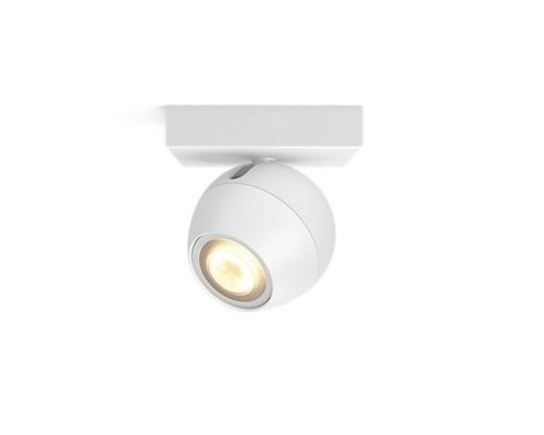 Philips Hue HUE Buckram White Ambiance opbouwspot 1x5,5W 250lm wit