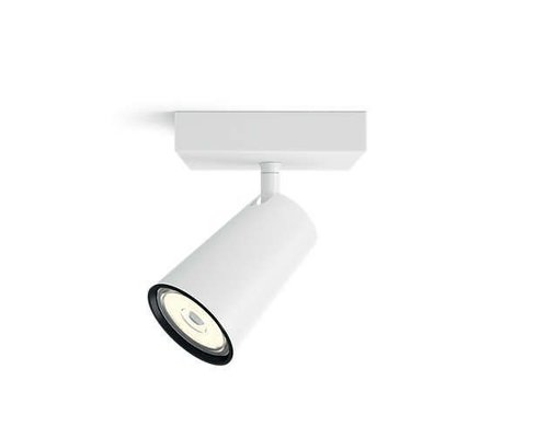 Philips Paisley opbouwspot wit 1-licht