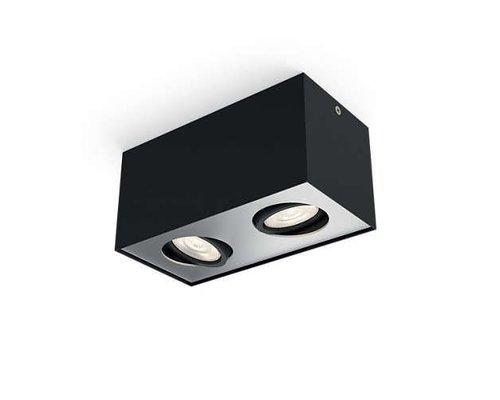 Philips 2 Spot Box Noir