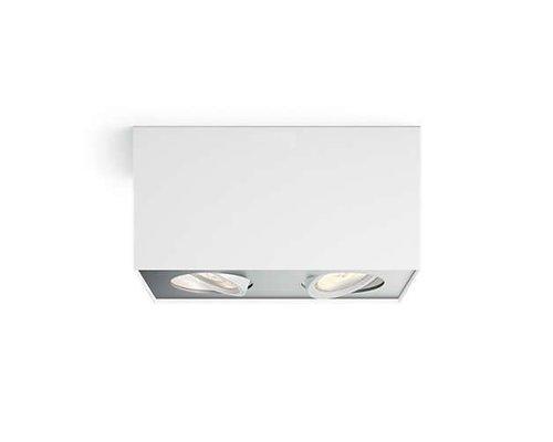 Philips 2 Spot Box Blanc