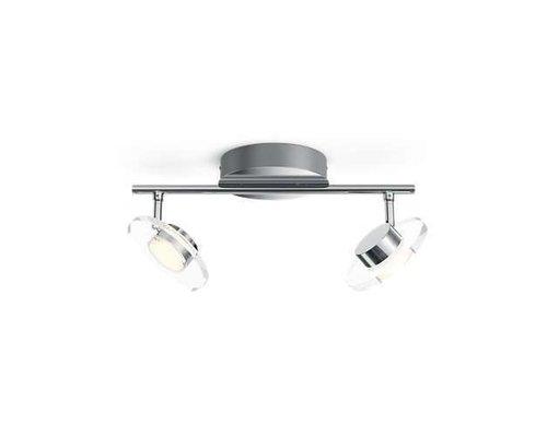 Philips Glisette opbouwspot chroom 2-lichts