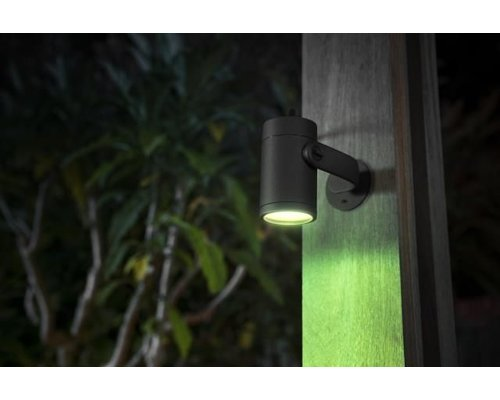 Philips Hue HUE Lily White & Color Ambiance grondpin LED 8W 640lm zwart extension kit (1)