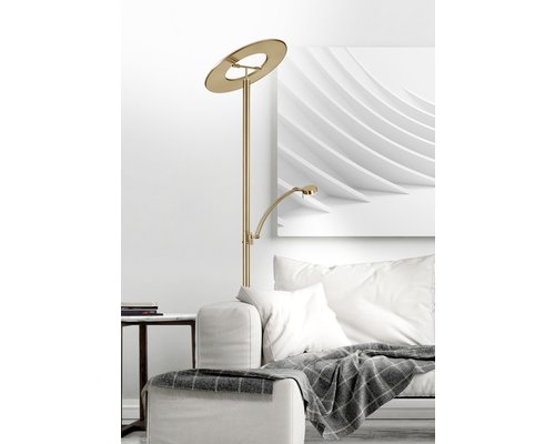 Light Gallery Monza vloerlamp rons 2 licht