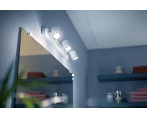 Philips Hue HUE White Ambiance Adore spot monté IP44 LED 3xGU10 5.5W / 250lm blanc