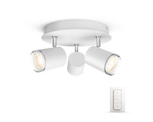 Philips Hue HUE White Ambiance Adore plafondspot IP44 LED 3xGU10 5,5W/250lm wit
