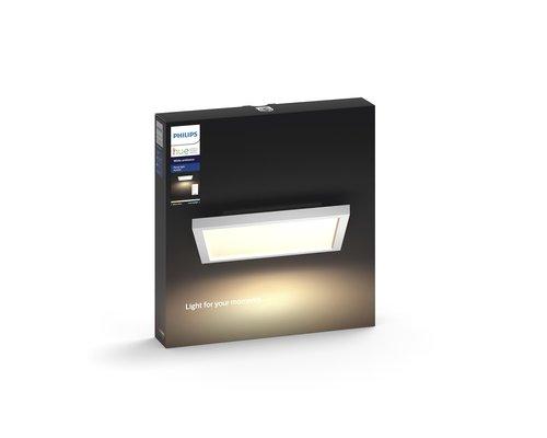 Philips Hue HUE Aurelle White voyant Ambiance carré petite LED 28W 2200lm blanc + interrupteur