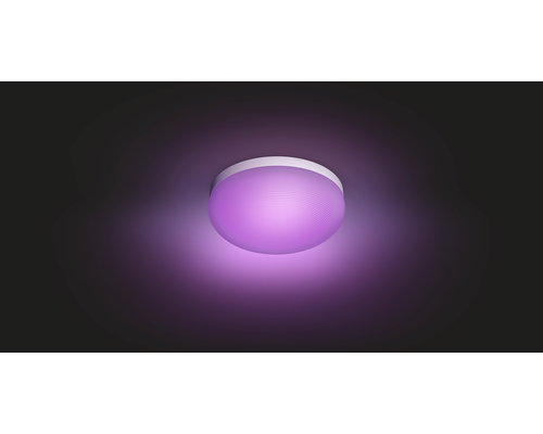 Philips Hue HUE Flourish White & Color Ambiance plafondlamp LED 32W 2400lm wit