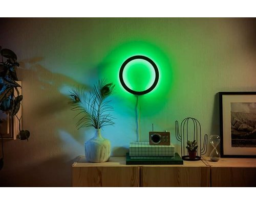 Philips Hue Sana White & Color Ambiance applique LED 20W 1500lm noir