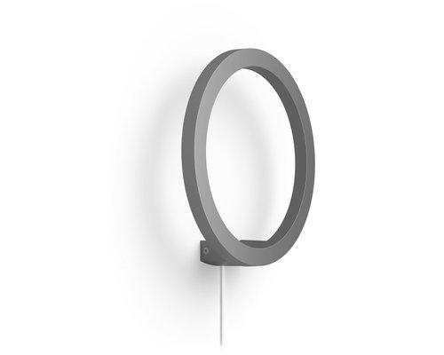 Philips Hue Sana White & Color Ambiance wandlamp LED 20W 1500lm zwart