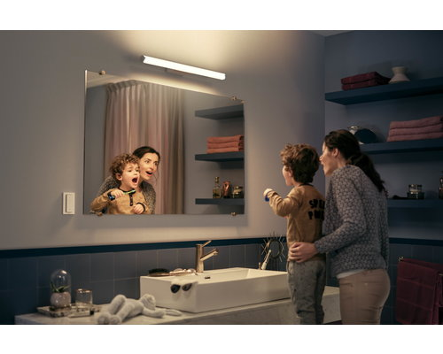 Philips HUE Adore White Ambiance miroir lumineux LED 20W 1750lm blanc