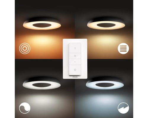 Philips Hue HUE Still BT plafonnier LED 1x32W noir