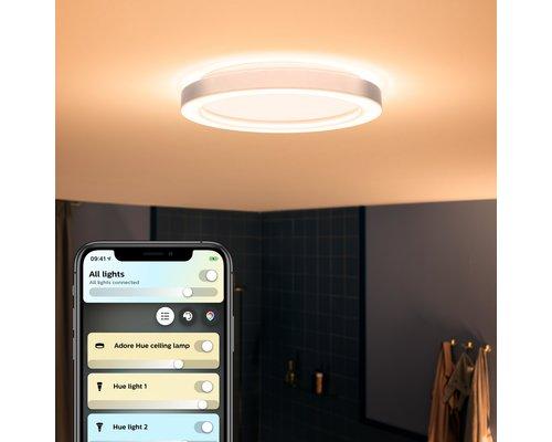 Philips Hue Hue Adore BT plafonnier LED 40W / 2400lm IP44 chrome