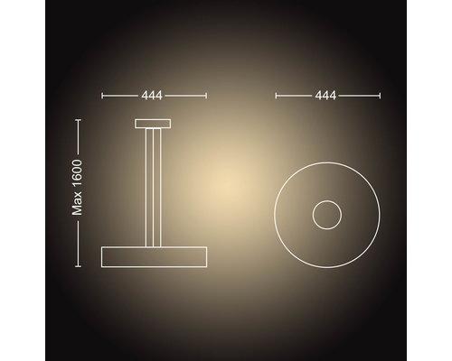 Philips Hue HUE Fair BT hanglamp LED 1x33.5W wit