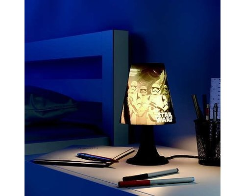 Philips Star Wars bureaulamp zwart