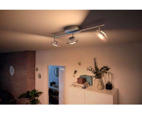 Philips Glisette opbouwspot chroom 3-lichts