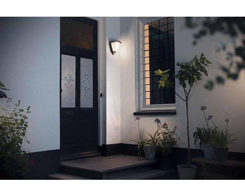 Philips Kiskadee wandlamp donkergrijs