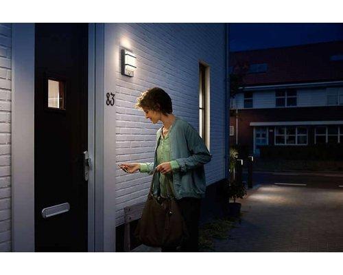 Philips Petronia wandlamp donkergrijs