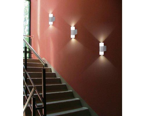 Light Gallery Valerio wandlamp alu 2-licht