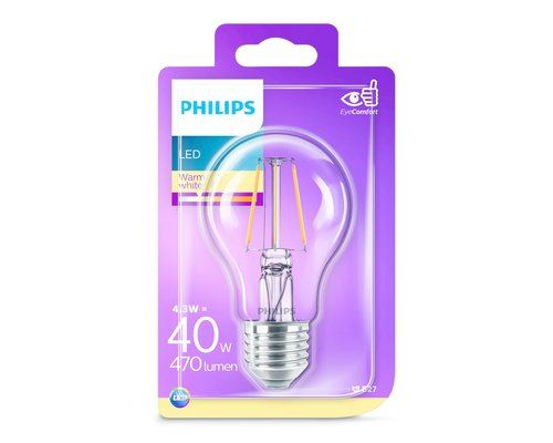 Philips Led lamp E27 425lm