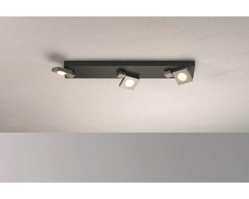 Light Gallery Flash opbouwspot grijs 3-licht