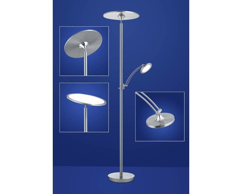 Light Gallery Loop vloerlamp alu 2-licht