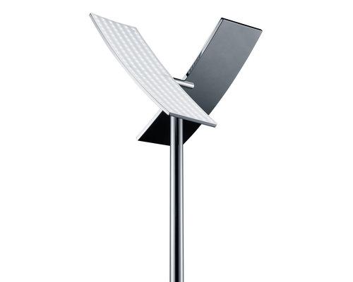 Light Gallery Duo vloerlamp grijs 2-licht