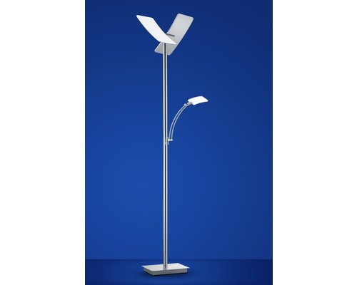Light Gallery Duo vloerlamp alu 2-licht