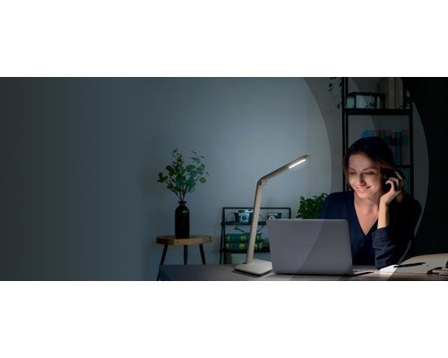 Philips Jabiru bureaulamp wit