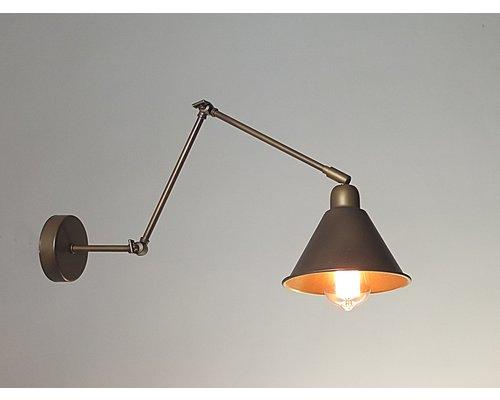 Light Gallery Club wandlamp bruin