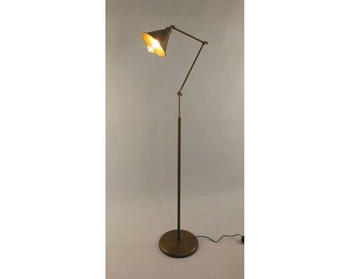 Light Gallery Club staanlamp bruin