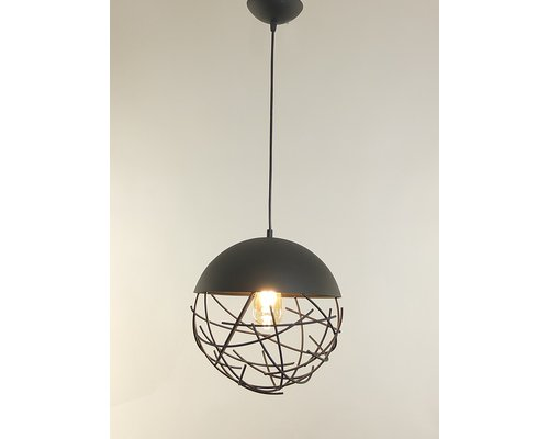 Light Gallery Minerva hanglamp zwart