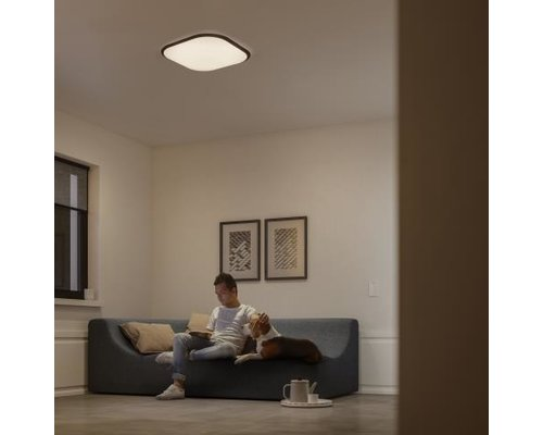 Philips CAVANAL plafondlamp 40K SQ plafondlamp vierkant 18W wit