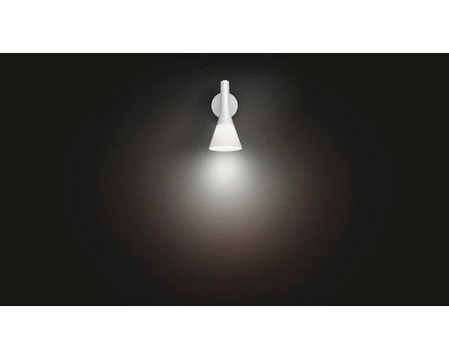 Philips Hue Explore White Ambiance wandlamp LED 1xE14/6W 470lm wit + switch