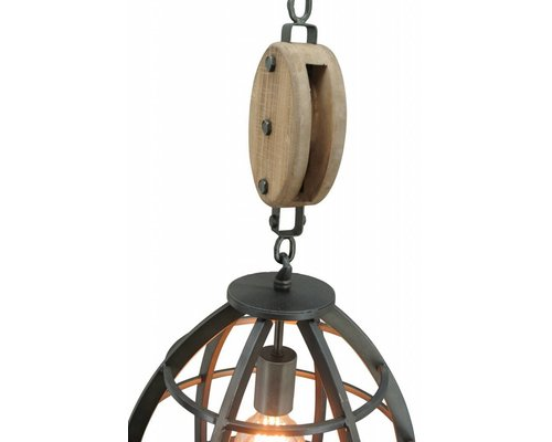 Light Gallery Lucca hanglamp 1L staal