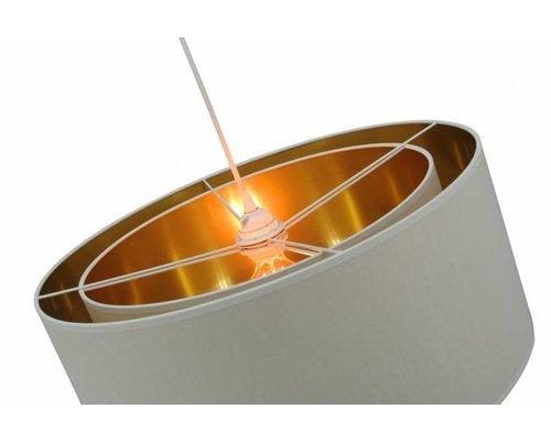 Light Gallery Jacky hanglamp wit goud