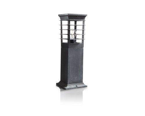 Philips Patio sokkel 1xE27/60W grijs
