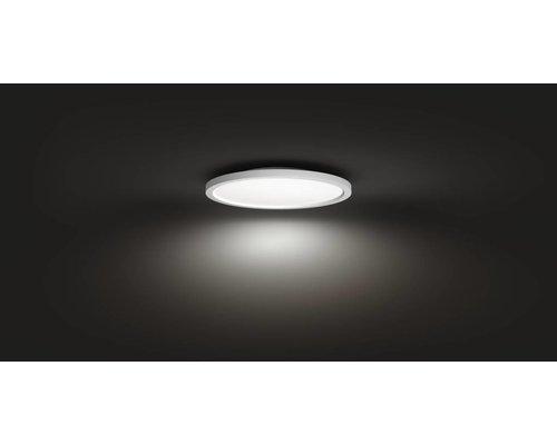 Philips Hue Aurelle White Panneau lumineux Ambiance rond petite LED 28W 2200lm blanc + interrupteur
