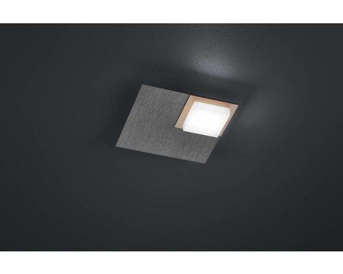 Light Gallery Quadro Plafonnier Carré - Gris