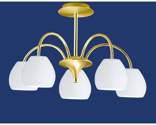 Light Gallery Centurion plafondlamp 5-licht goud