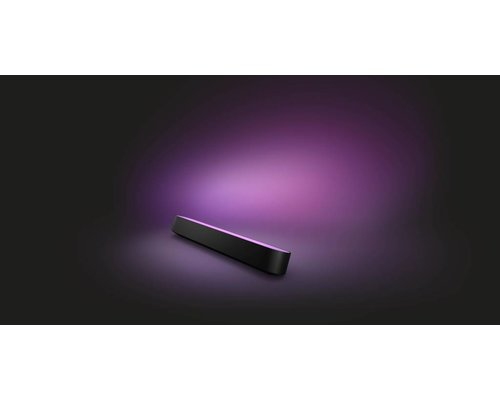 Philips Hue Lampe de table de jeu HUE LED 1x6W / 530lm kit de démarrage noir