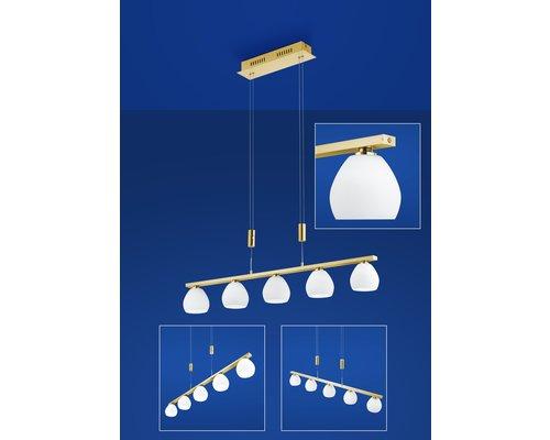 Light Gallery Centurion hanglamp goud 5L