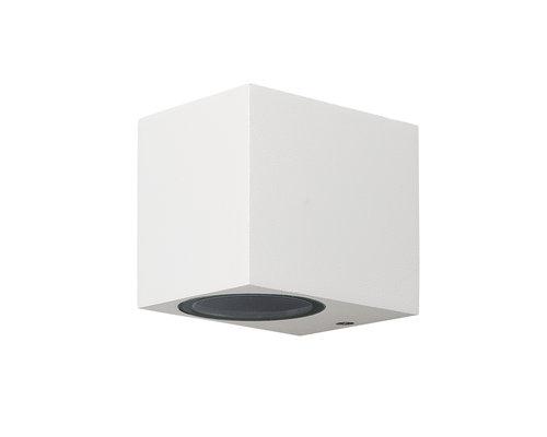 Light Gallery Kandachu wandlamp vierkant klein 1xGU10 wit