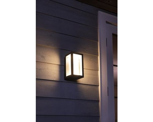 Philips Hue Hue applique murale White and Colour Ambiance LED 8W 1200lm noir