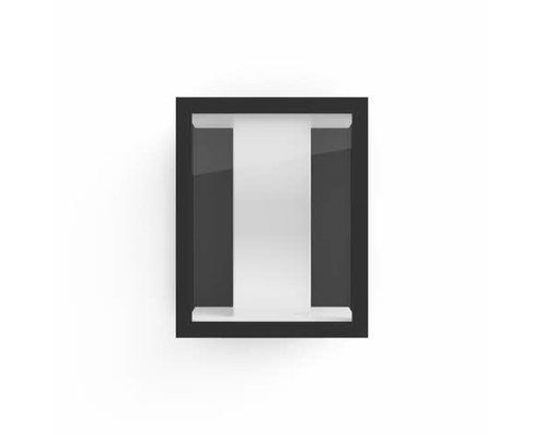 Philips Hue Impress White and Color Ambiance wandlamp large LED 8W 1200lm zwart