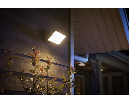 Philips Hue Spot de jardin Welcome White 15W 2300lm noir